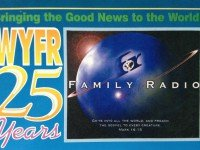 WYFR QSL Тайвань Family Radio Worldwide 1997 год