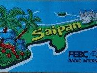 QSL KFBS Saipan Северные Марианские острова FEBC 1998 год