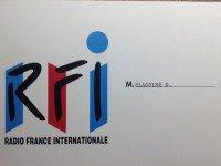 QSL Франция Radio France International Май 1996 года