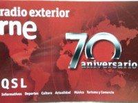 QSL Radio Exterior de Espana Испания REE Ноябрь 2013 года