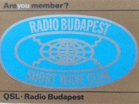 QSL Radio Budapest Венгрия Радио Будапешт Июнь 1996 года
