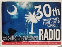 QSL WHRI США World Harvest Radio Август 2015 года