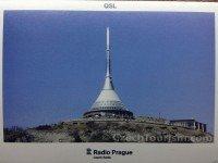 QSL Radio Prague Чехия Радио Прага Ноябрь 2015 года