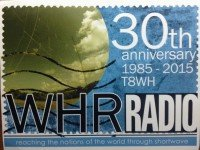 QSL T8WH Palau Палау World Harvest Radio 24 октября 2015 года