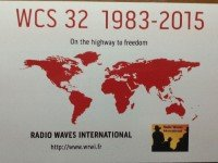 QSL Radio Waves International Франция Channel 292 Германия Ноябрь 2015 года