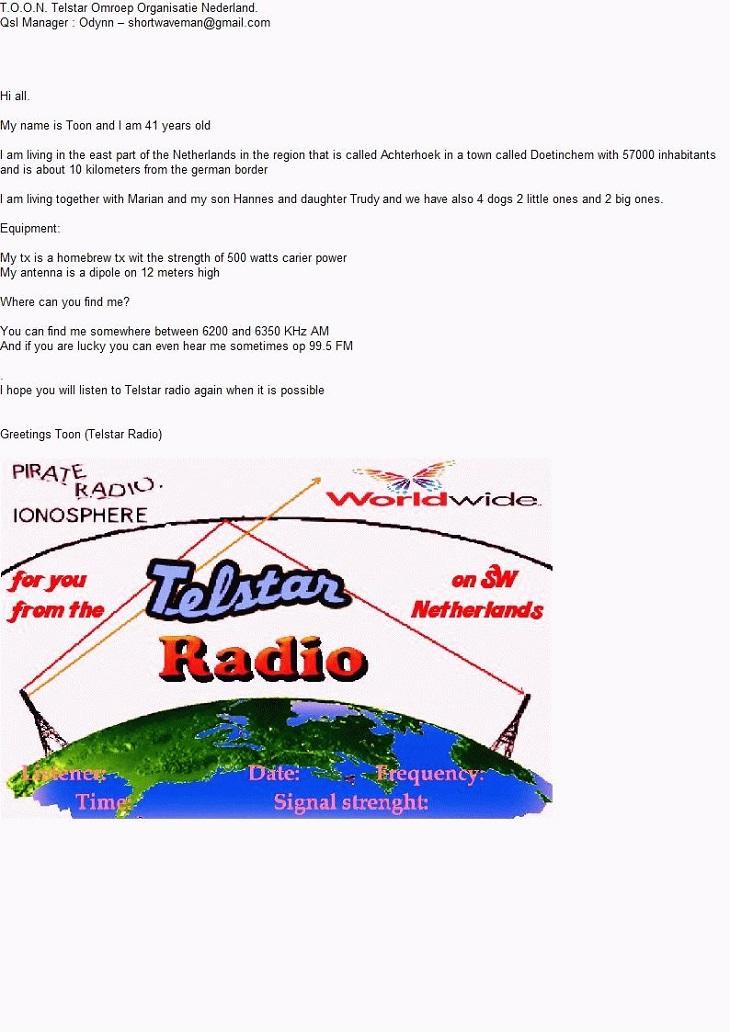 T.O.O.N Telstar Omroep Organisatie Nederland