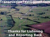 e-QSL Test Transmission Woofferton Великобритания Февраль 2016 года