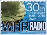 QSL T8WH Palau Палау World Harvest Radio Март 2016 года