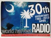 QSL WHRI США World Harvest Radio Март 2016 года