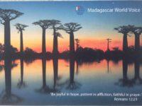 QSL Madagascar World Voice KNLS Мадагаскар Аляска Март 2016 года