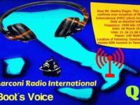 e-QSL Marconi Radio International Италия Март 2016 года