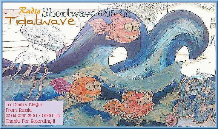QSL RadioTidalwavedotcom Dmitry Elagin