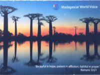 QSL Madagascar World Voice KNLS Мадагаскар Аляска Апрель 2016 года