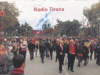 QSL Radio Tirana Албания Март 2016 года