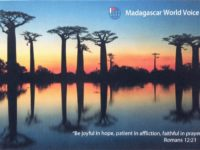 QSL Madagascar World Voice KNLS Мадагаскар Аляска Апрель 2016 года
