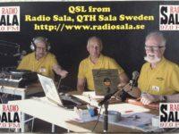 QSL Radio Sala Швеция Апрель 2016 года