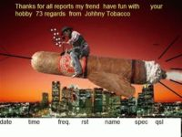 e-QSL Radio Johnny Tobacco Май 2016 года