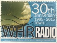 QSL T8WH Palau Палау World Harvest Radio Май 2016 года