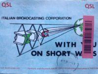 QSL IBC Italian Broadcasting Corporation Италия Апрель 2016 года