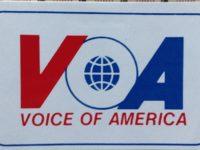 QSL Voice of America Голос Америки Апрель 2016 года
