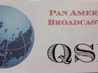 QSL Pan American Broadcasting Германия Июль 2016 года