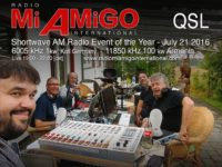 e-QSL Radio Mi Amigo International Армения 21 июля 2016 года