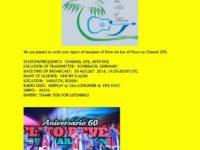 e-QSL From the Isle of Music Германия 30 августа 2016 года
