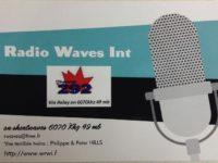 QSL Radio Waves International Франция Channel 292 Германия Сентябрь 2016 года