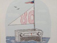 QSL Radio Prague Чехия Радио Прага 31 августа 2016 года