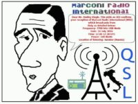 e-QSL Marconi Radio International Италия Июль 2016 года