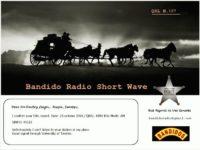 e-QSL Radio Bandido Италия 23 октября 2016 года
