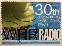 QSL WHRI США World Harvest Radio Сентябрь 2016 года