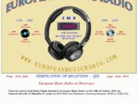 e-QSL European Music Radio Германия EMR Октябрь 2016 года