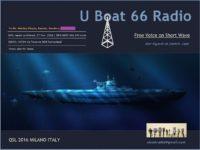 e-QSL U-Boat 66 Radio Милан Италия 27 ноября 2016 года