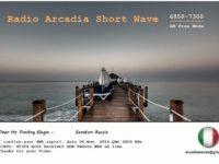 e-QSL Radio Arcadia Италия Ноябрь 2016 года