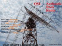 e-QSL Authentic Rock Radio Германия Ноябрь 2016 года