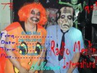 e-QSL Radio Merlin International Великобритания 29 и 31 октября 2016 года