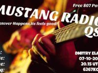 e-QSL Mustang Radio Нидерланды Октябрь 2016 года