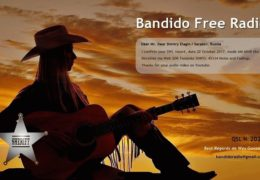 e-QSL Bandido Radio Италия Октябрь 2017 — Декабрь 2016 года