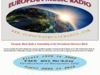 e-QSL European Music Radio Германия EMR Декабрь 2016 года