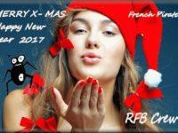 Merry Christmas & Happy New Year 2017 Поздравления с Рождеством и Новым Годом
