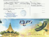 e-QSL RTM Sarawak FM Малайзия Ноябрь 2016 года