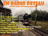 e-QSL SM Radio Dessau Февраль 2017 года