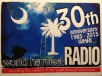 QSL WHRI США World Harvest Radio Январь 2017 года