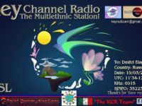 e-QSL Key Channel Radio Италия Март 2017 года