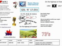 e-QSL Radio Waves International Франция Март 2017 года