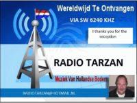 e-QSL Radio Tarzan Нидерланды Май 2017 года