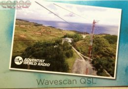 QSL Adventist World Radio 2015 — 2017