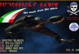 e-QSL Enterprise Radio Италия Август Ноябрь 2017 года