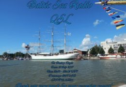 e-QSL Baltic Sea Radio Финляндия Июль 2017 года